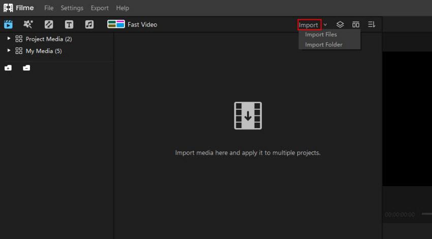 filme import files